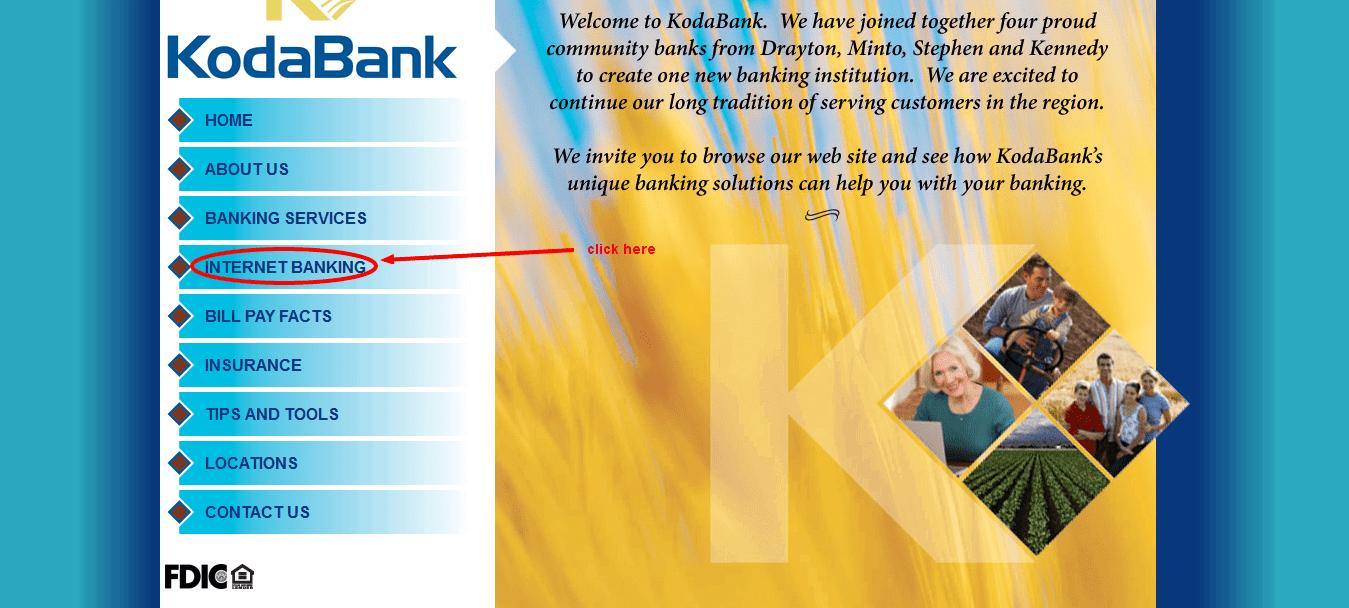 KodaBank internet banking
