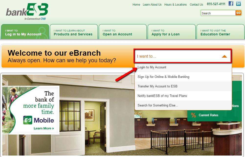 Easthampton Savings Bank Online Banking Login