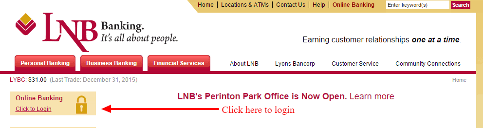Lyons National Bank Login