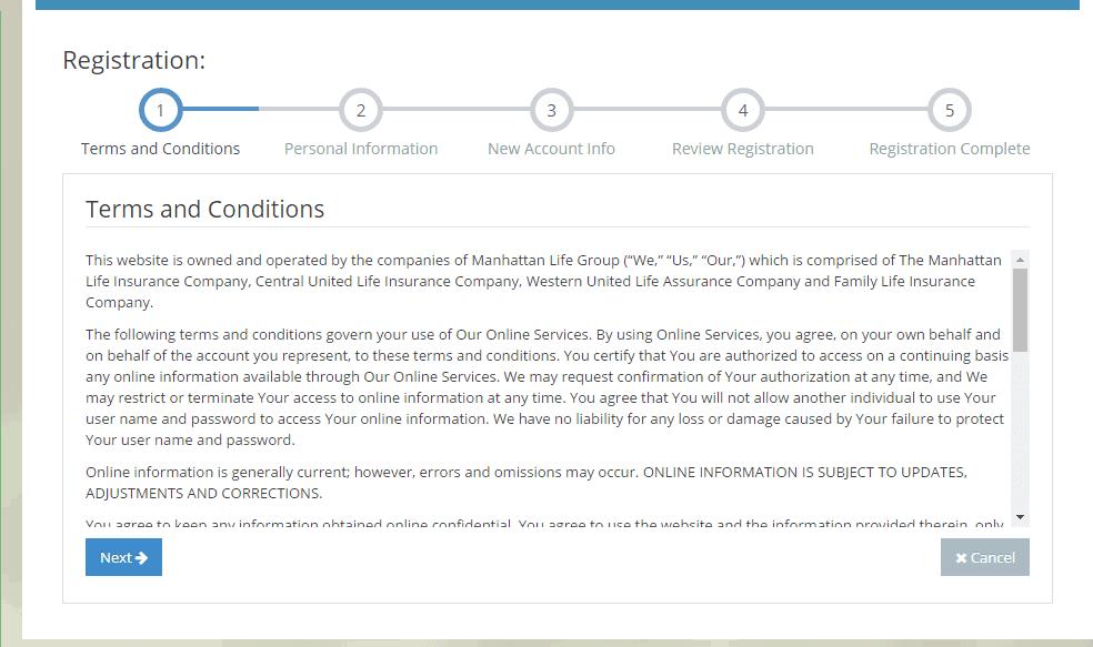 ManhattanLife Policyholder TOS