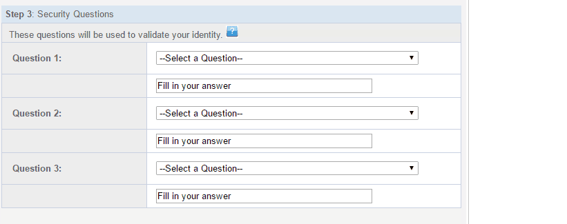 Metlife security questions