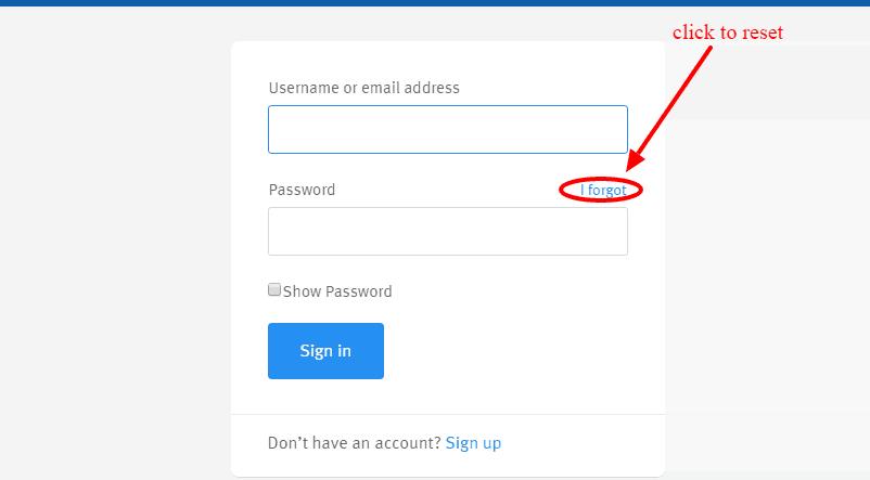 Mutual of Omaha forgot password