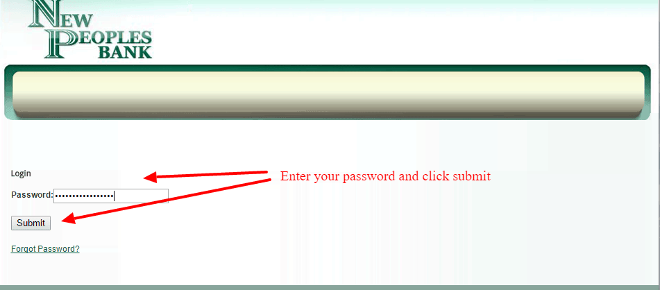 New Peoples Bank Online Banking Login