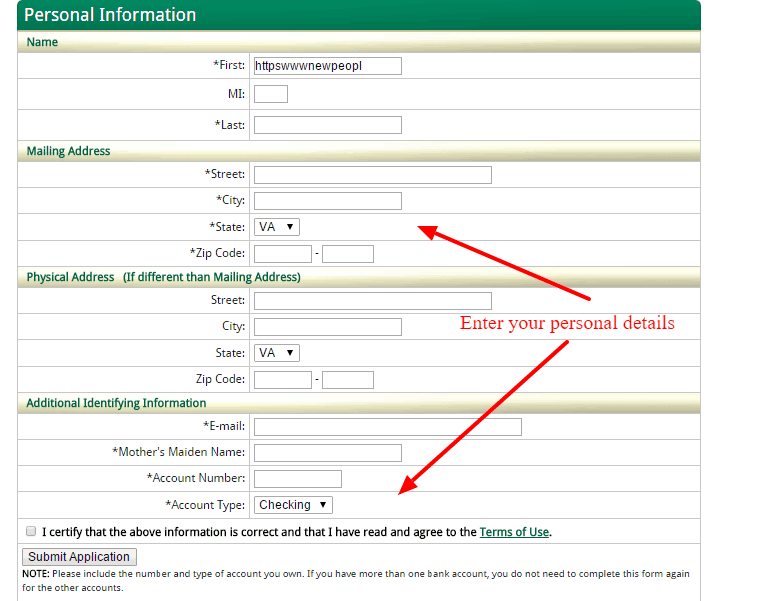 New Peoples Bank Online Banking Registration