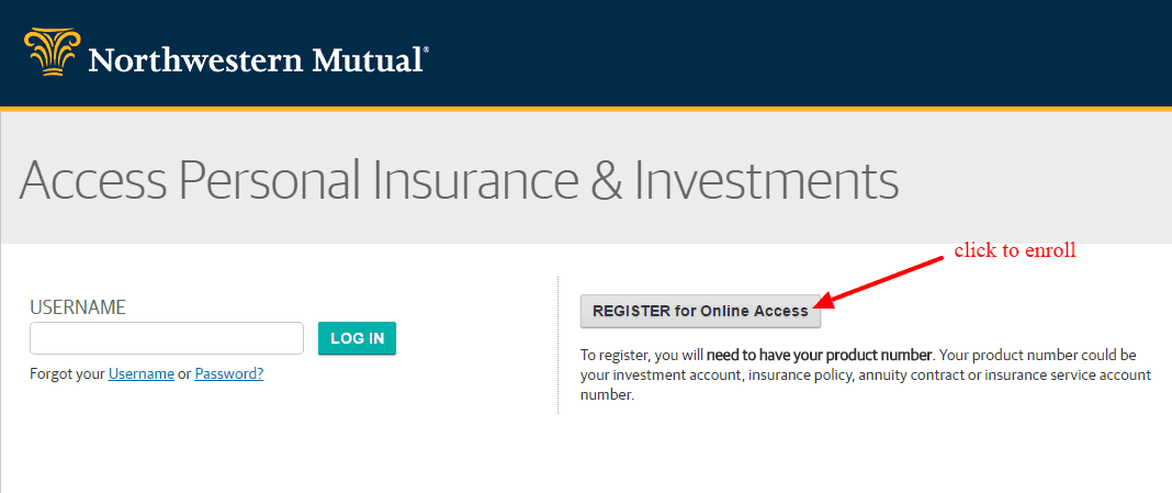 Northwestern Mutual enrollment