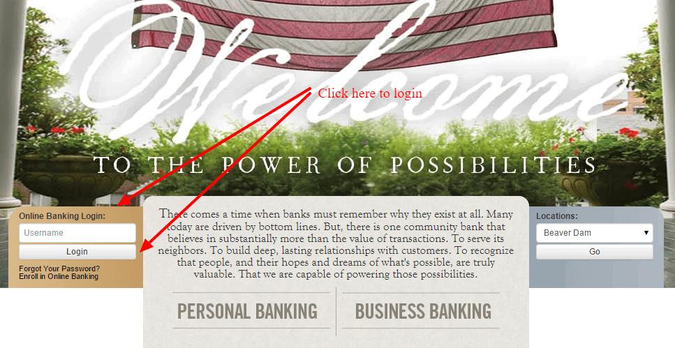 PBI Bank Personal Login