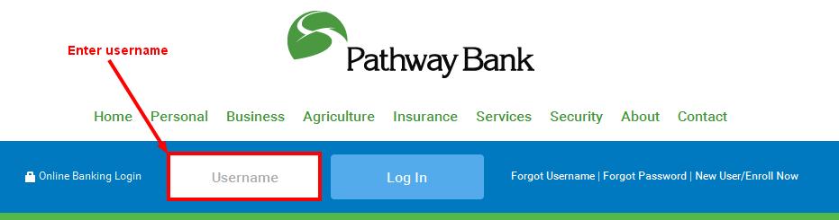 Pathway Bank Online Banking Login
