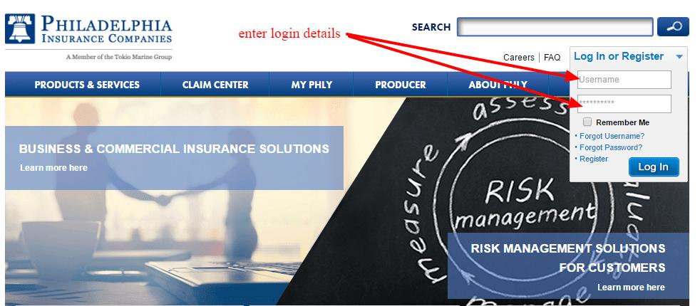 Phly insurance login