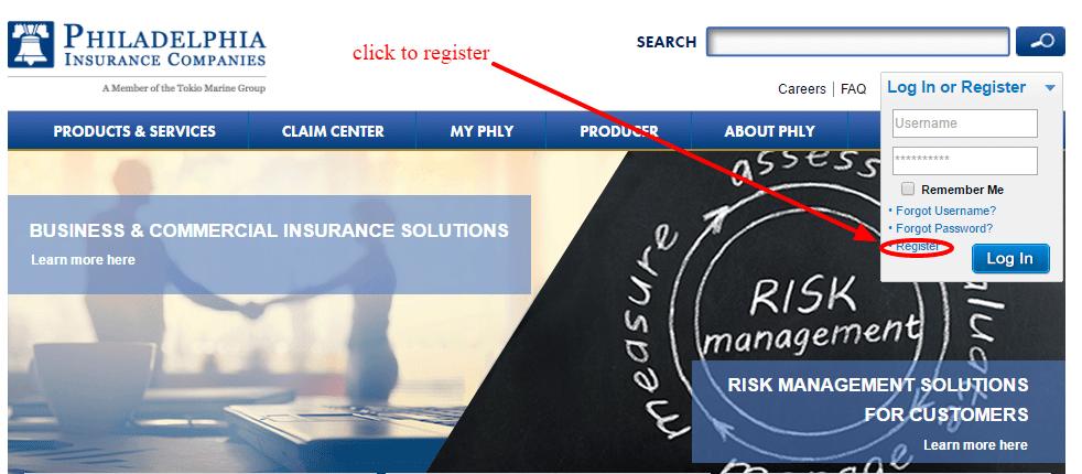 Phly user registration