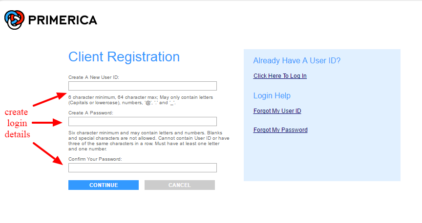 Primerica registration