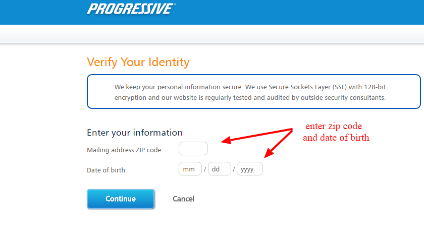 Progressive verification