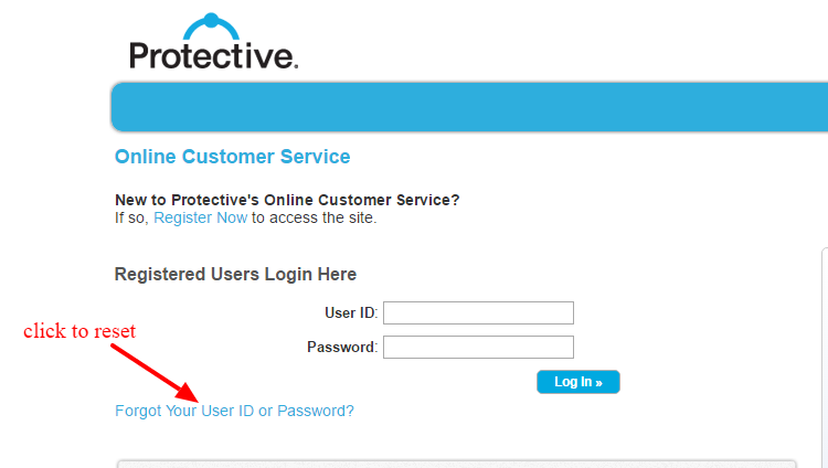 Protective reset-password
