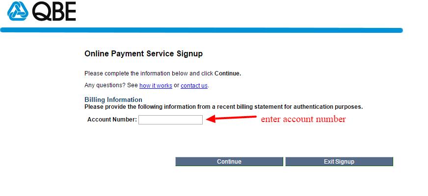 QBE online registration