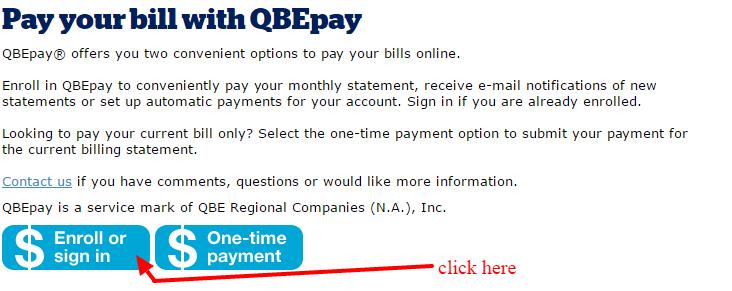 QBE pay bill2