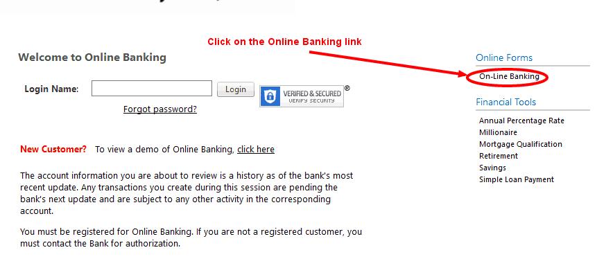 Reynolds State Bank Online Banking Enrollment