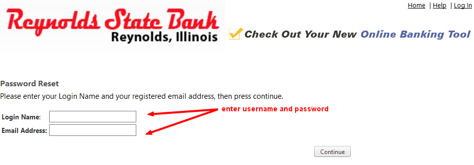 Reynolds State Bank Online Banking Password Reset-2