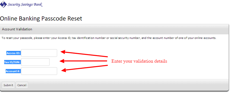 Security Savings Bank Login