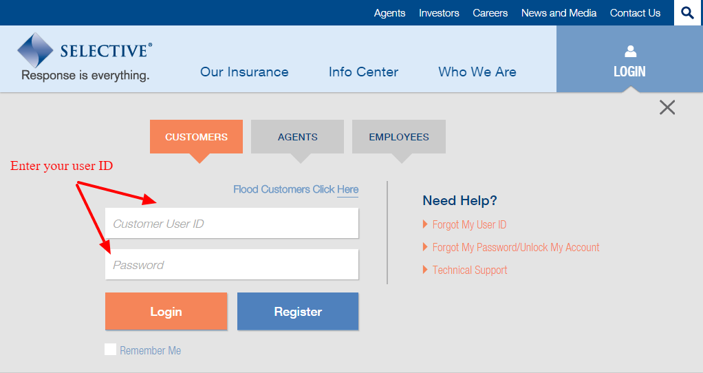Selective insurance login