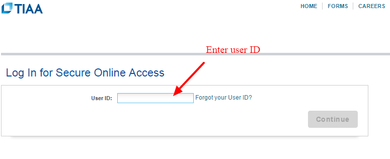 TIAA Secure Account Access
