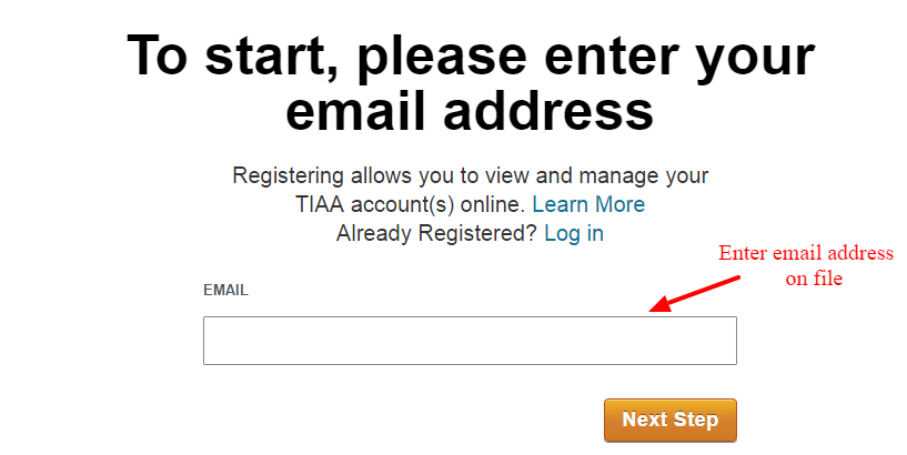 TIAA email