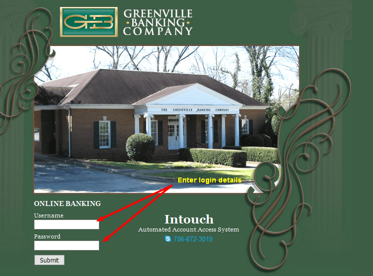The Greenville Banking Login