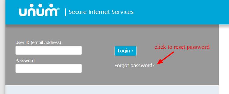 UNUM Password