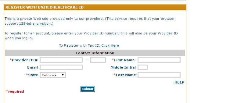 Uhcwest account registration