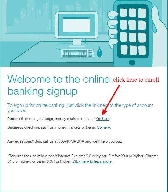 Umpqua Bank Online Banking Enrollment