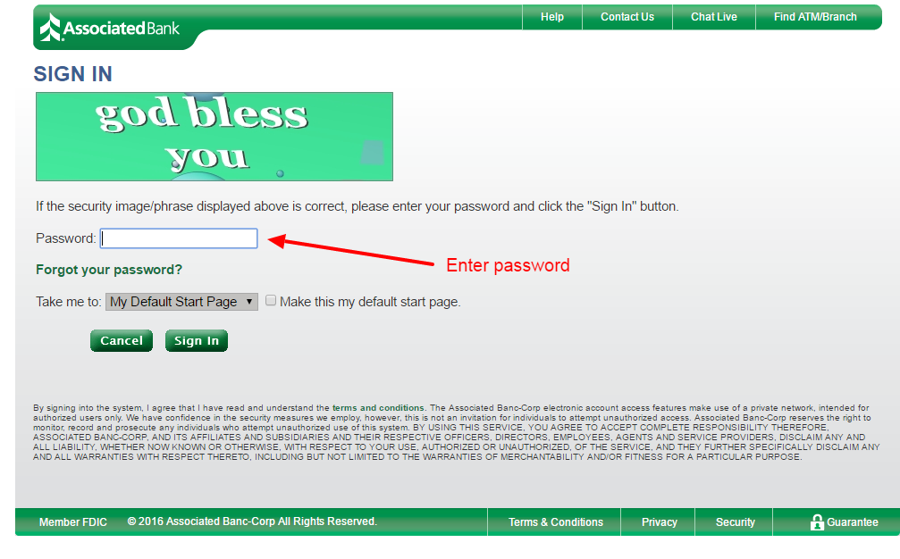 associated bank login 2