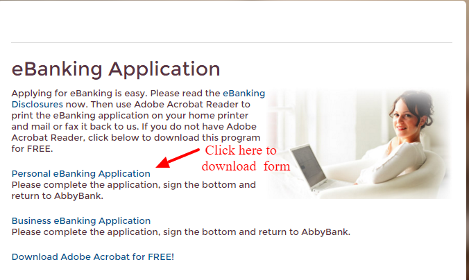 eBanking Application AbbyBank
