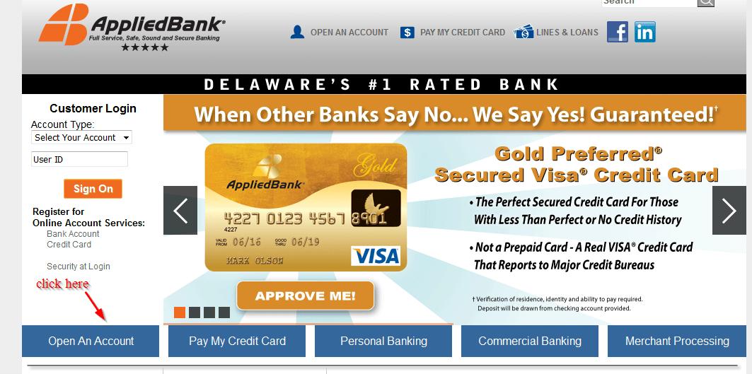 connexion Www.appliedbank.com