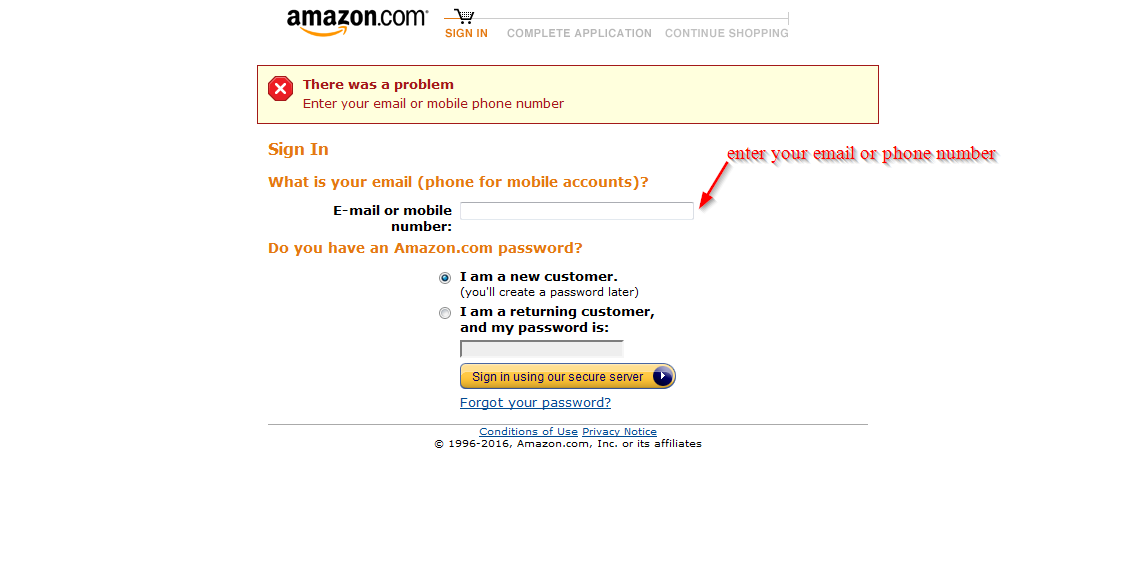 amazon credit card online banking