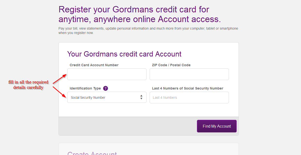 Gordmans Credit Card Online Login Cc Bank