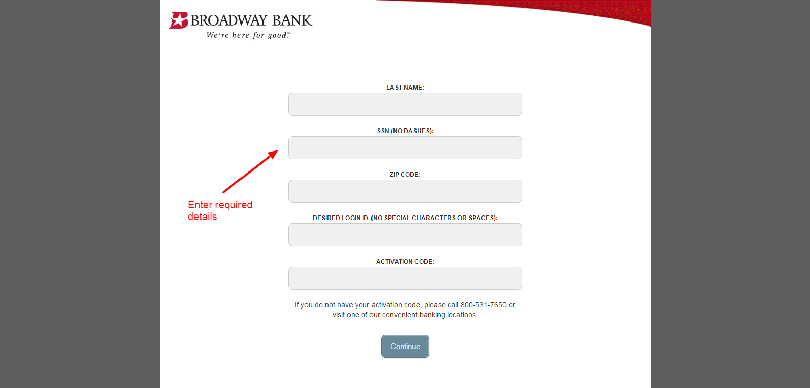 enroll 2 Online Banking