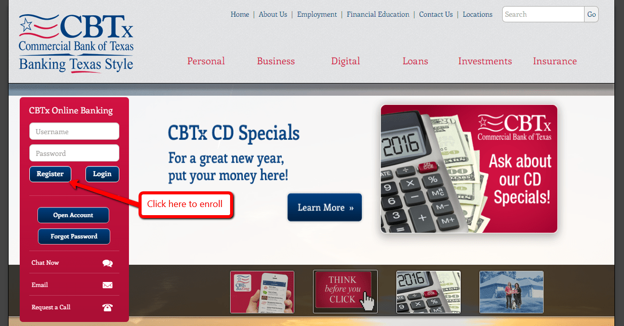 Commercial Bank Of Texas Online Banking Login