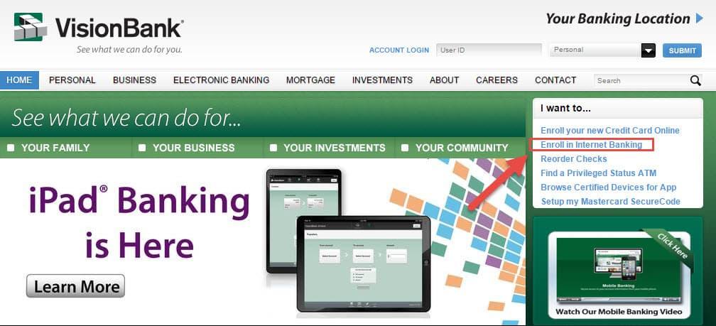 enroll-online-banking-visionbank