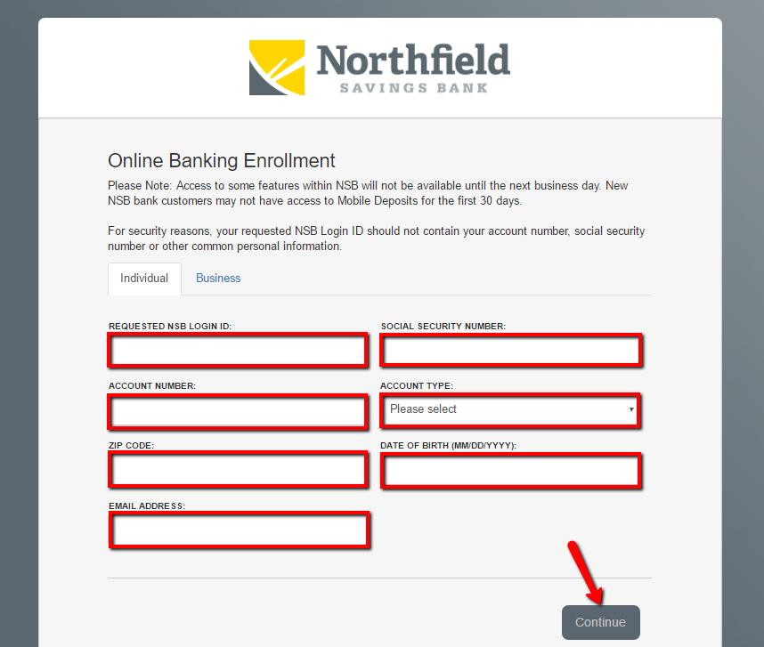 Northfield Savings Bank Online Banking Login - 🌎 CC Bank