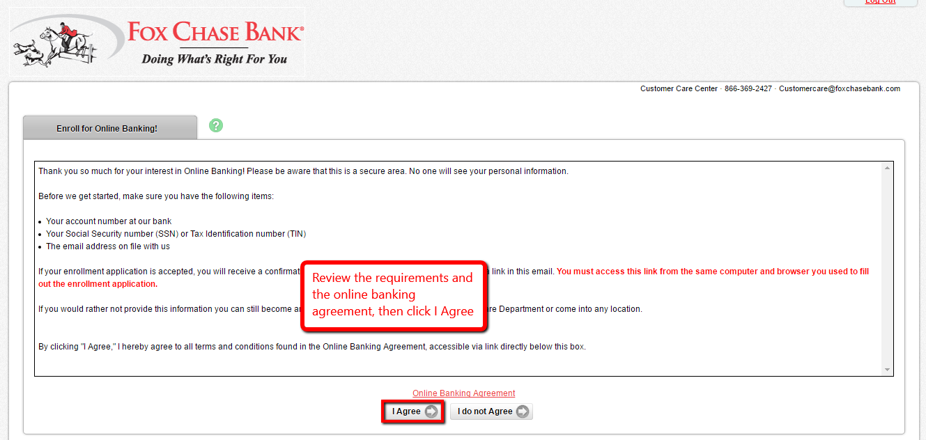 Step 4- Please fill in your Social Security Number (without dashes), Account  Number and Email Address, then click Continue