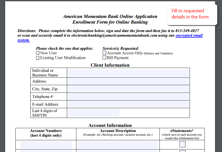 how to activate scotia online banking through application
