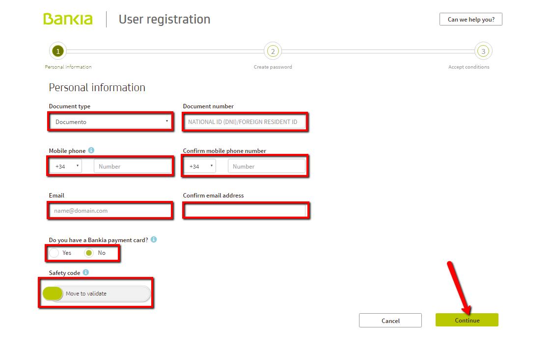 Bankia Online Banking Login Cc Bank