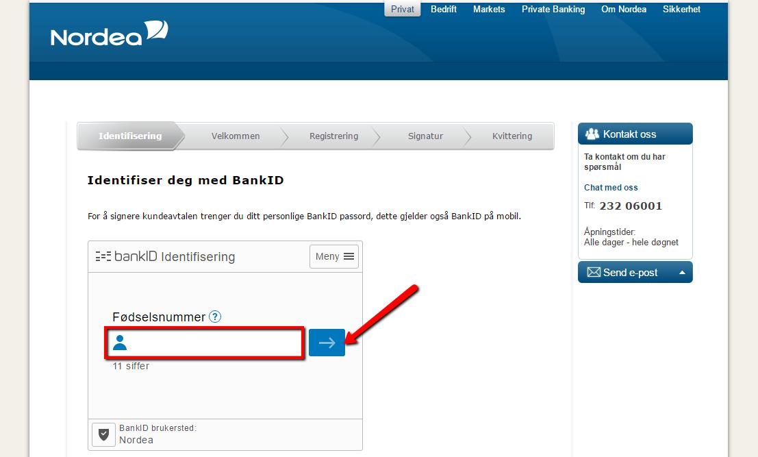 Nordea Bank Norge Online Banking Login - CC Bank
