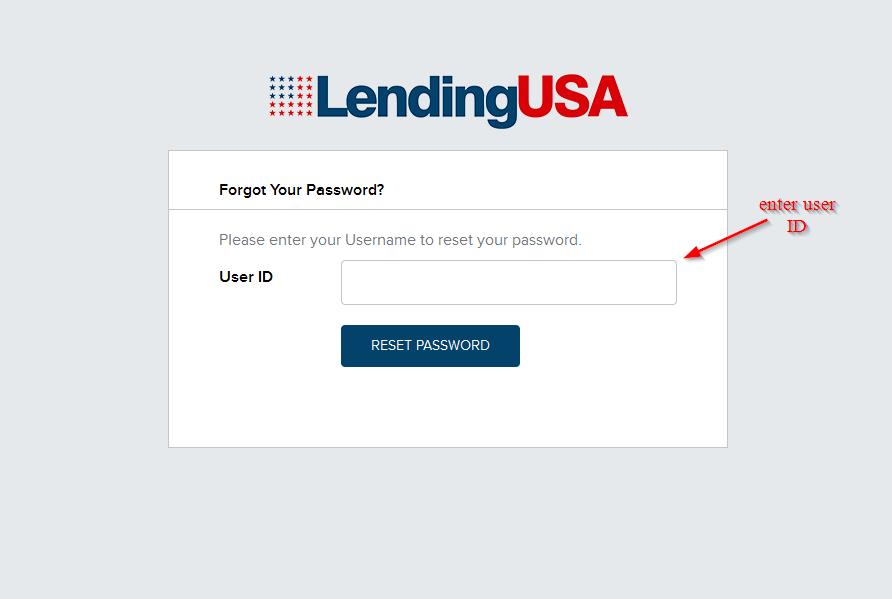 enter user ID