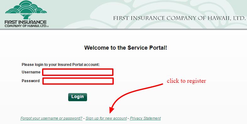ficoh insurance registration