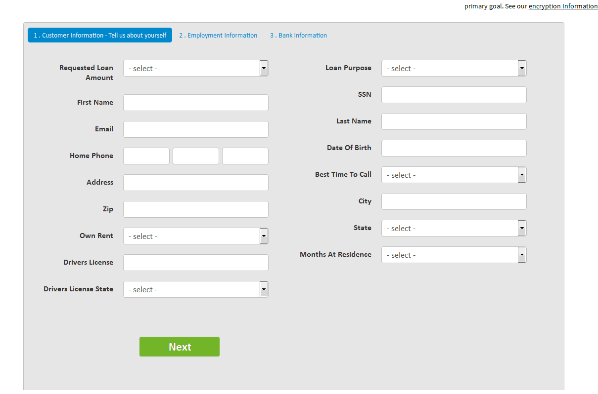 fill in your details