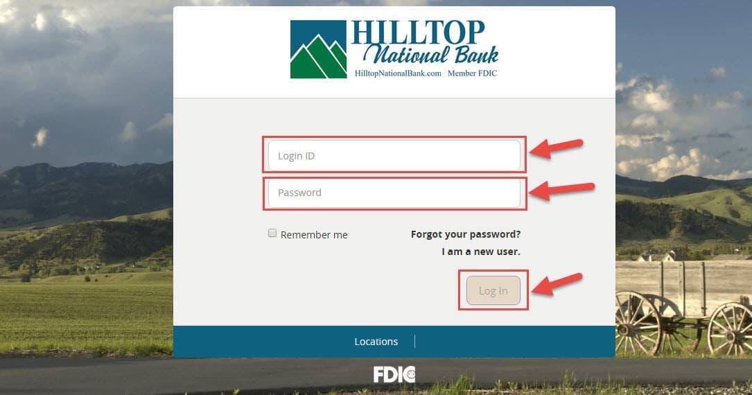 hilltop-bank-login-page