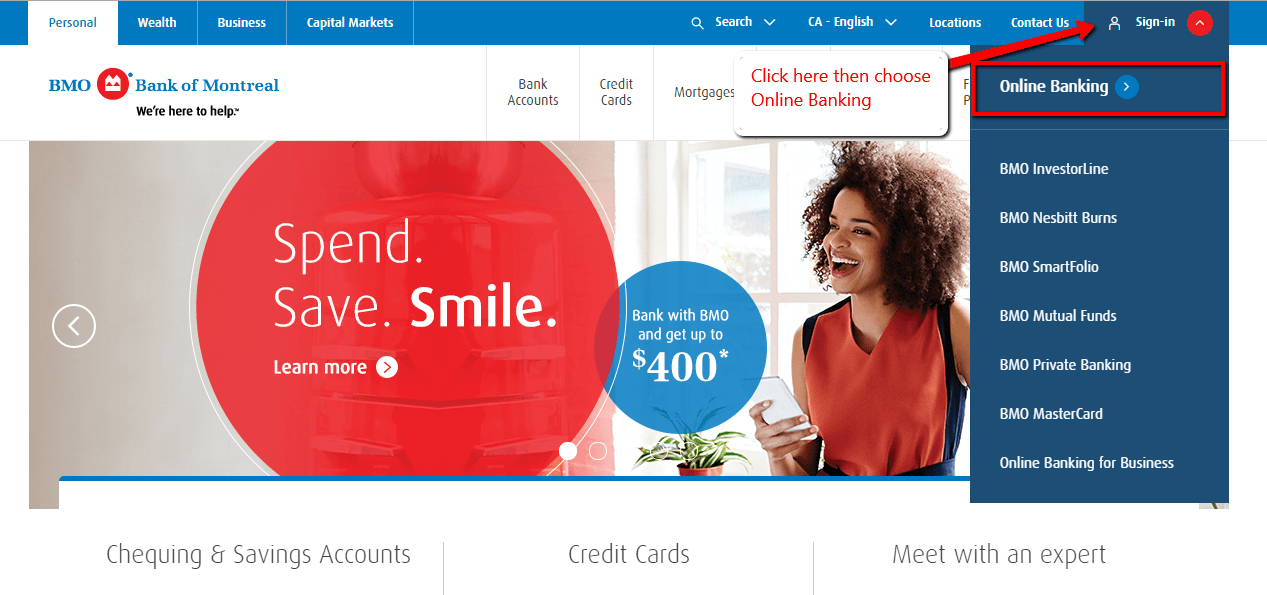 bmo online dating