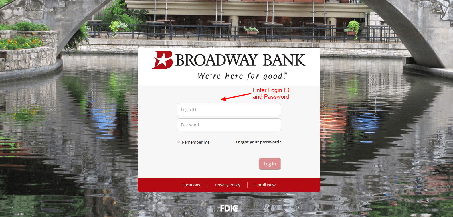 login 2 Broadway Bank