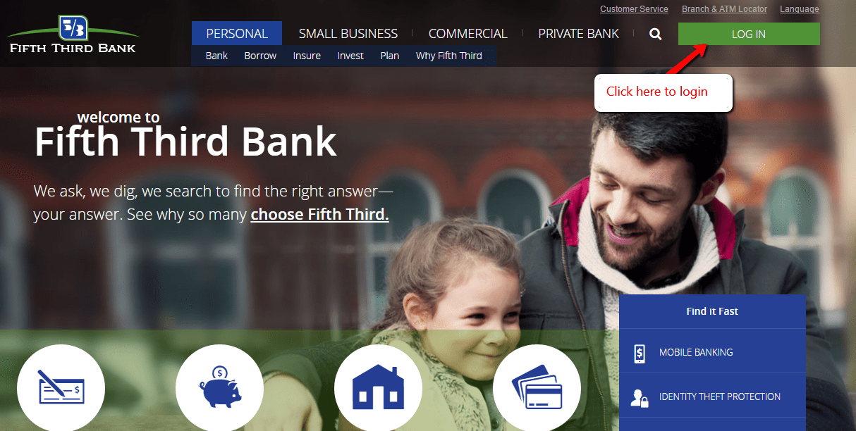 Www.fifth dritte Bank Login