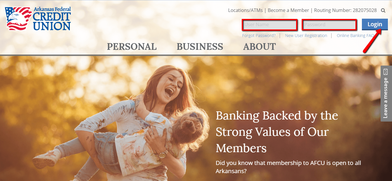 arkansas federal credit union online banking login - 🌎 cc bank