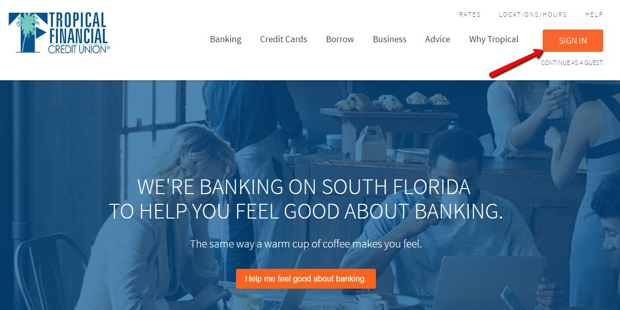 Www.tropical Finanz Credit Union